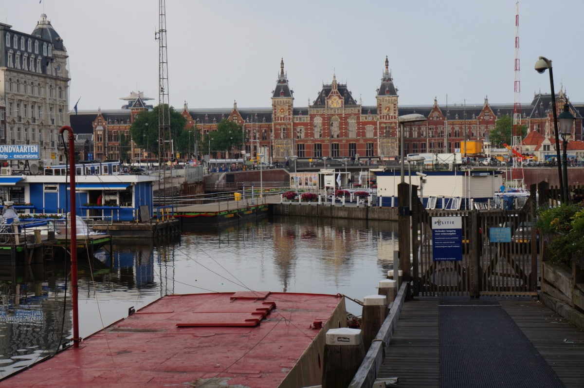 Centraal station is the heart of Amsterdam, if you're in the city you will pass by here