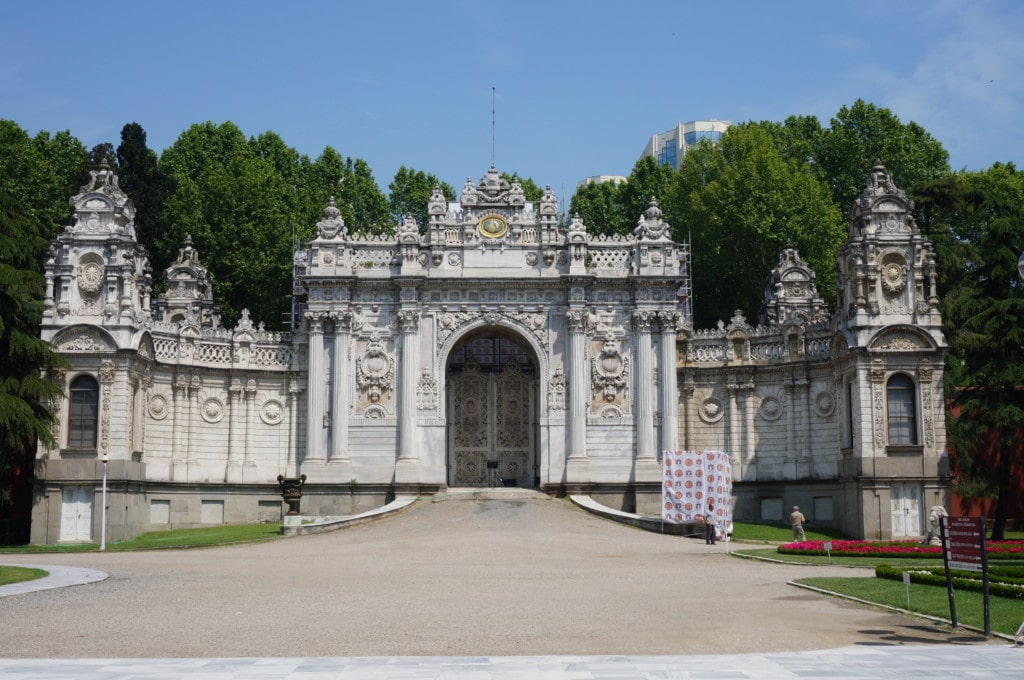 If you have time check out Dolmabahçe Palace. For some reason they don't allow pictures inside