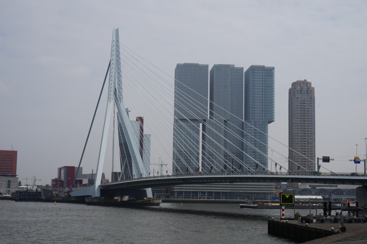 Rotterdam is my favourite city outside of Amsterdam, I just love the architecture