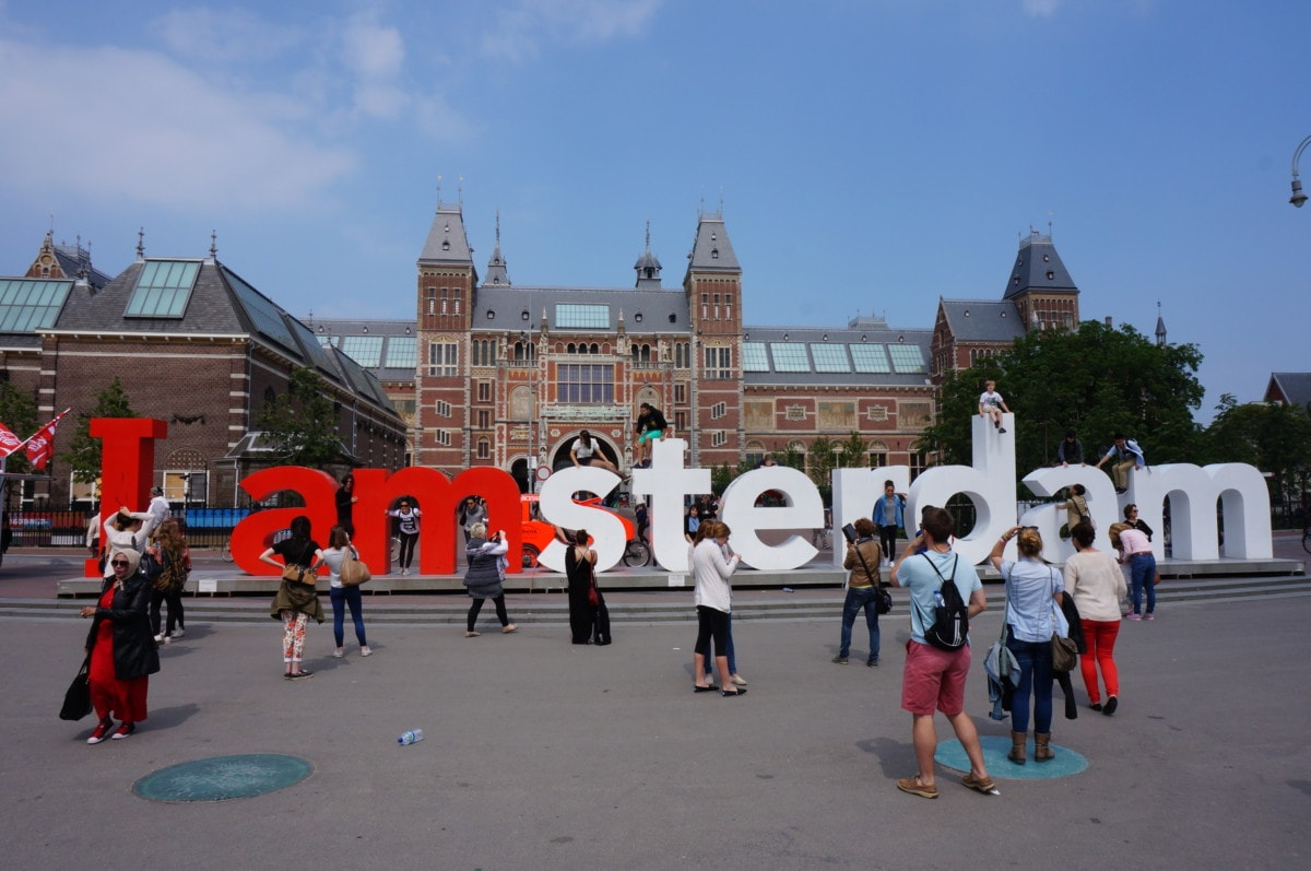 The Rijksmuseum re-opened in 2012 and has some great pieces of art
