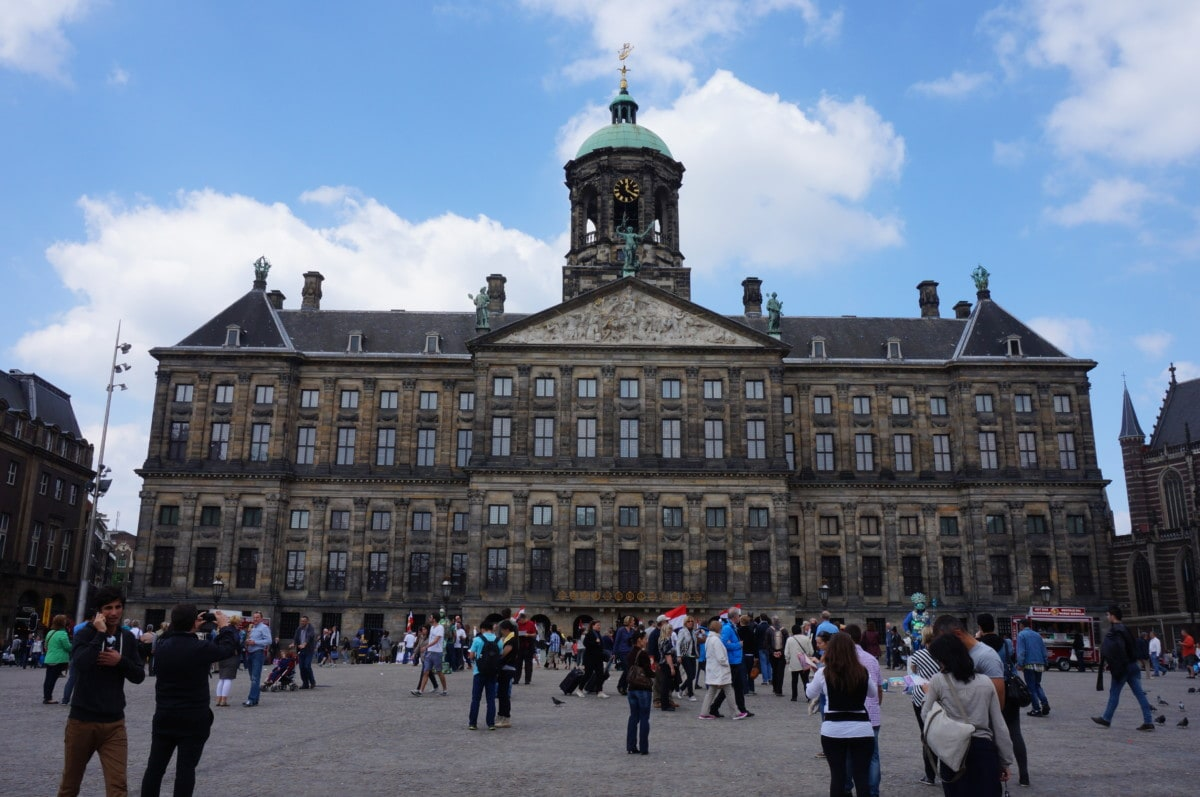 Not too far from Centraal station is the Royal Palace which faces Dam Square