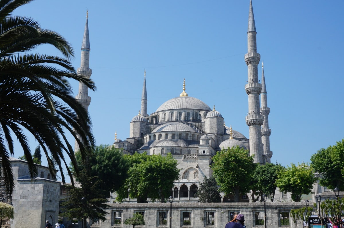Sultan Ahmed Mosque, commonly known as Blue Mosque dates back to the 1600's