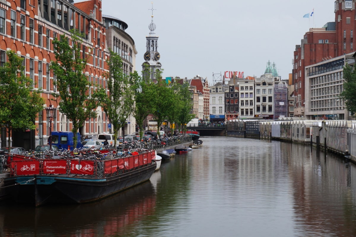 Amsterdam is famous for their canals, as you can see they are gorgeous