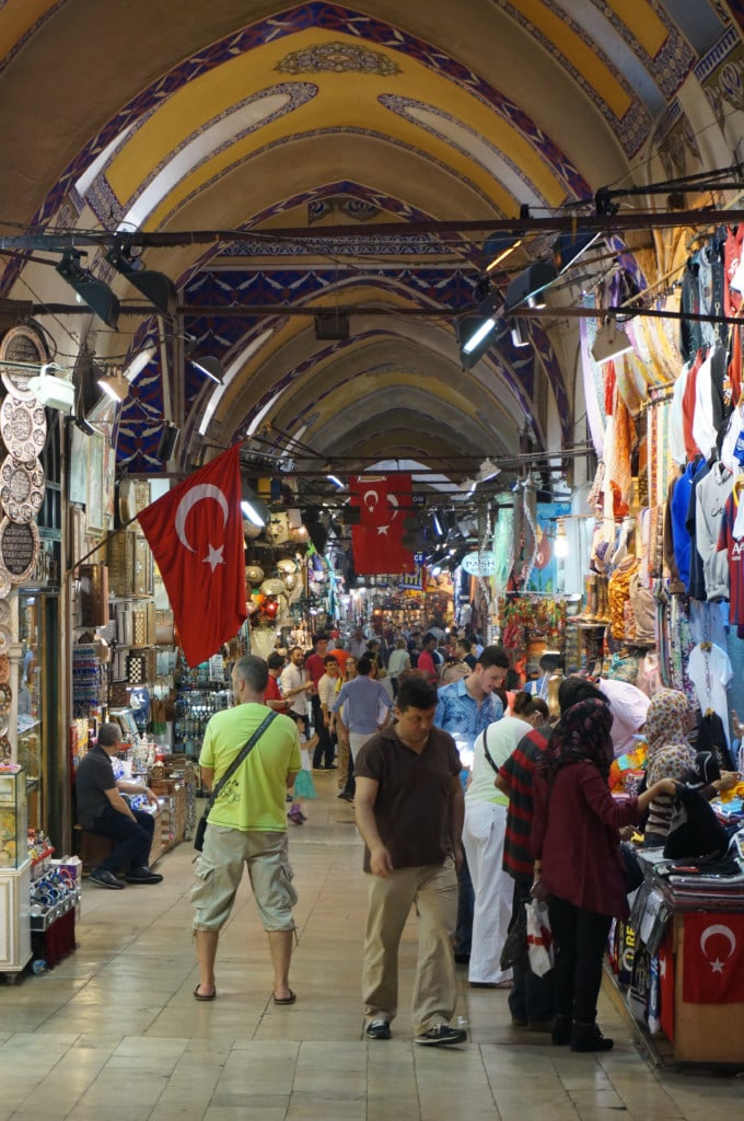 Of course a trip to Istanbul wouldn't be complete without a stop at the Grand Bazaar. Be warned this place is basically a giant tourist trap