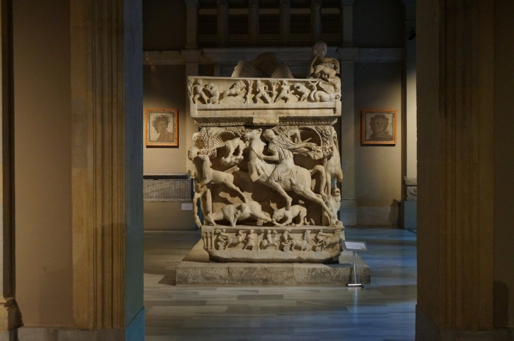 There's an entire building dedicated to tombs in the Istanbul Archaeological Museums