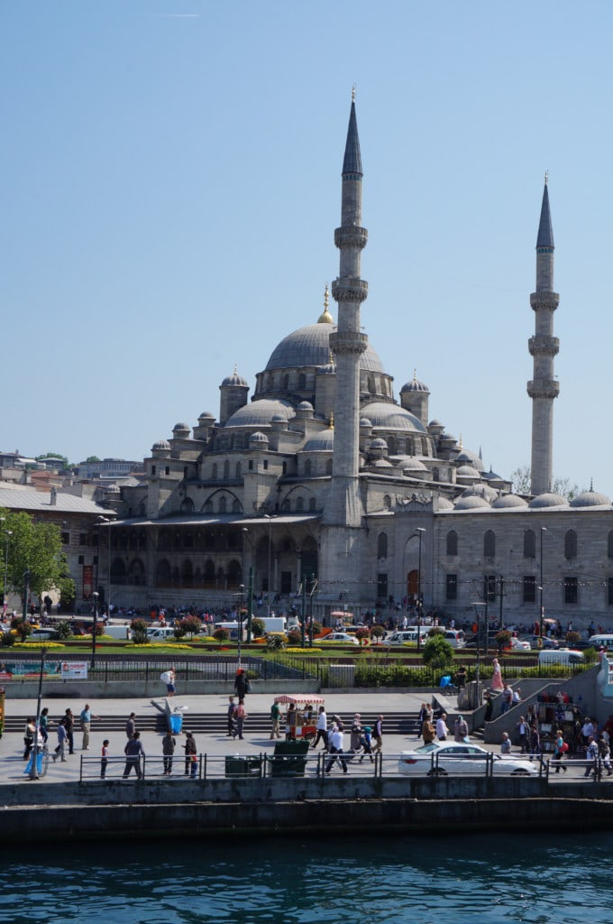 The New Mosque located in Eminönü was actaully built in 1650