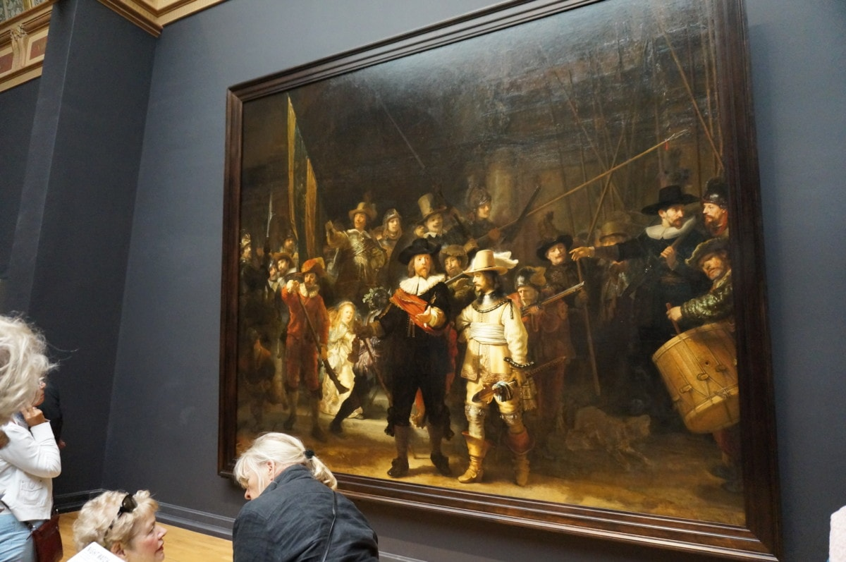 Including Rembrandt's 'The Night Watch'
