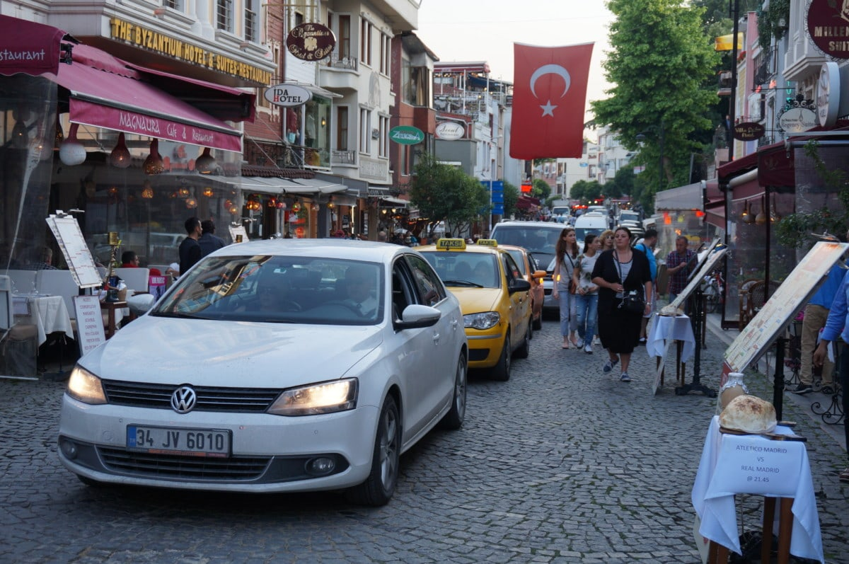 As you can see Istanbul is very lively