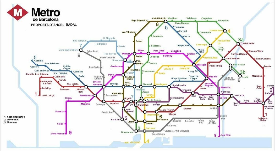 In Barcelona the Federal Government subsidizes half the cost of every fare making expansion easier