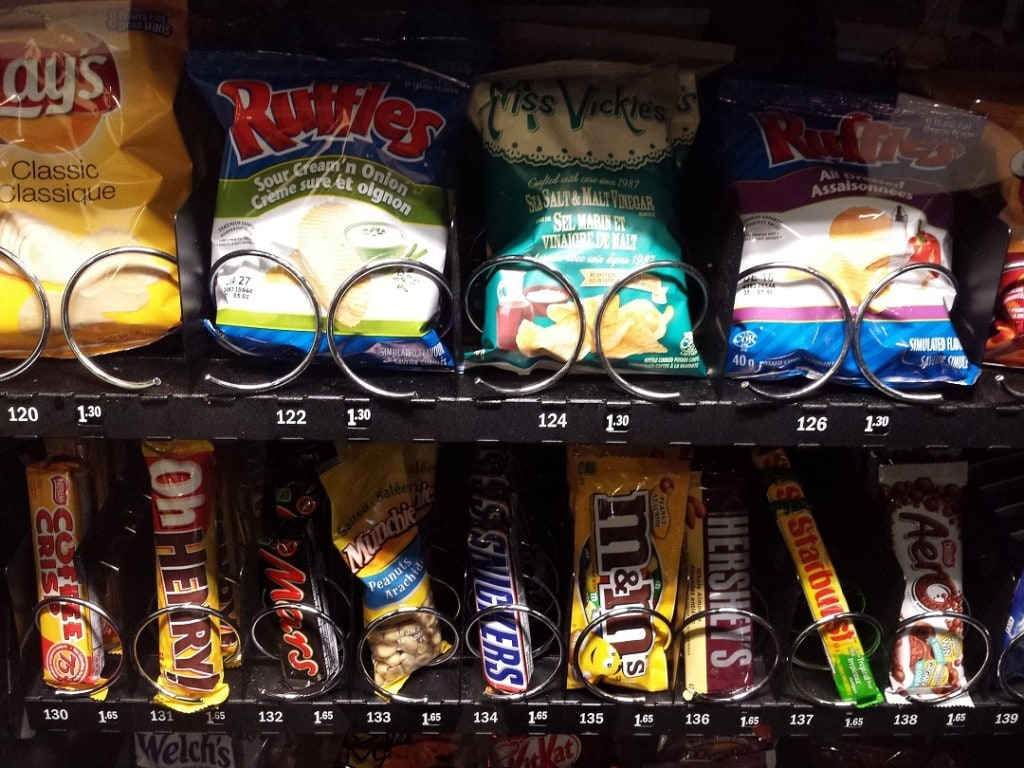stop spending money on vending machines