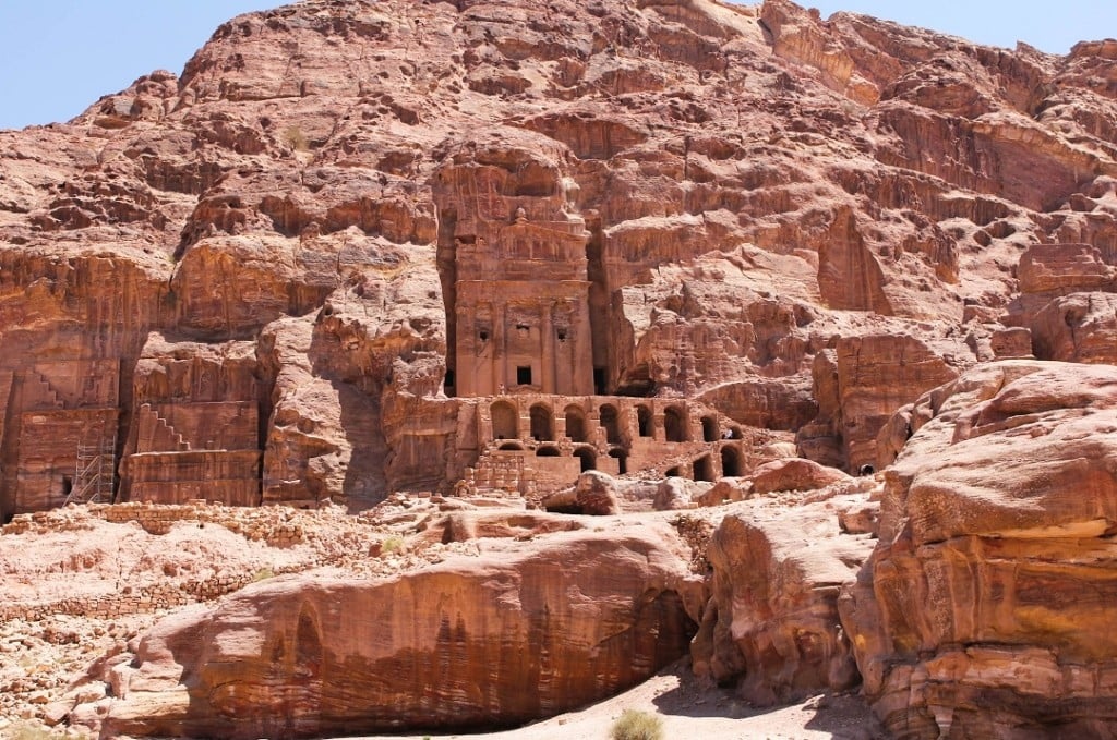 Royal tombs are located on site