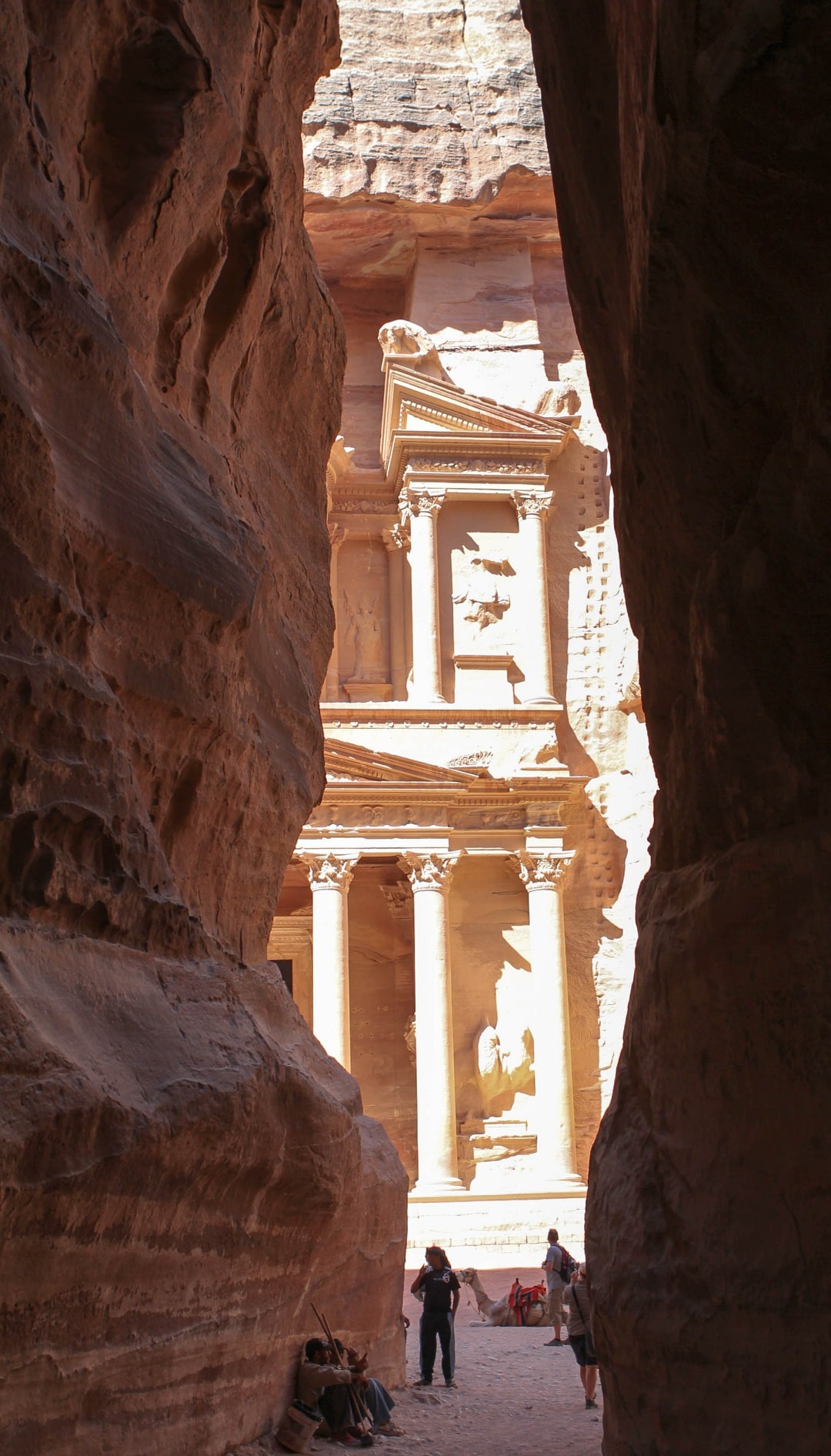As you exit the Siq, the treasury appears before you