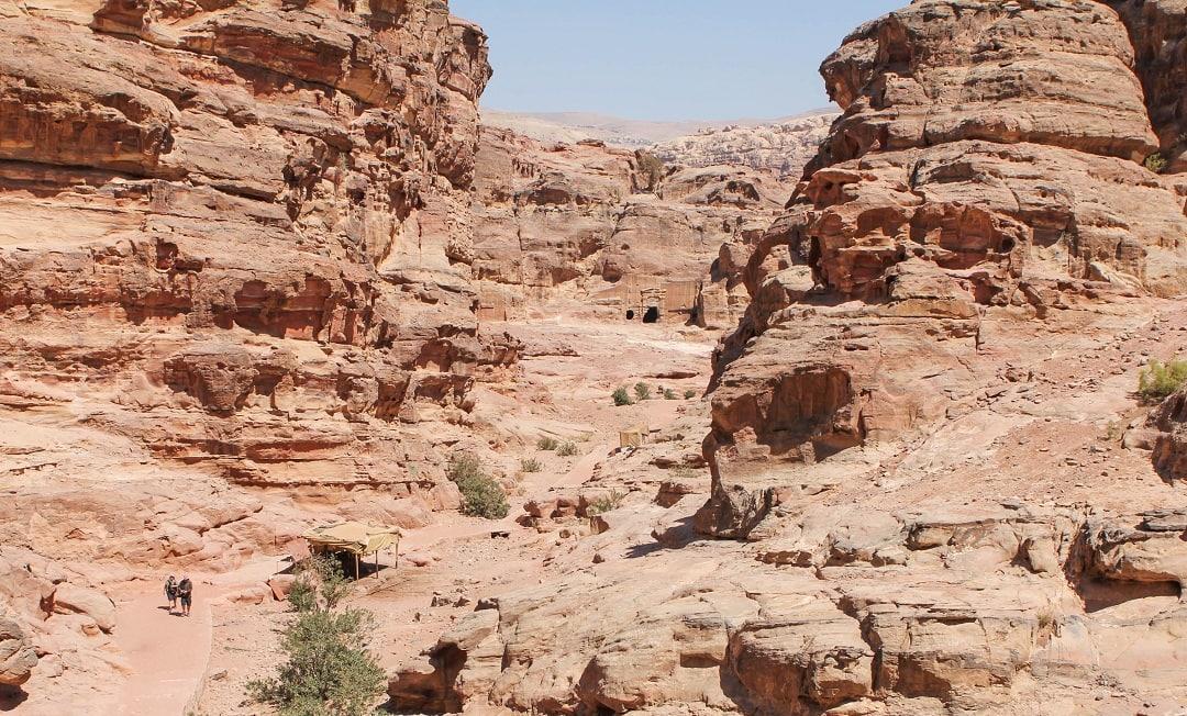 Deep within Petra is a hidden Monastery