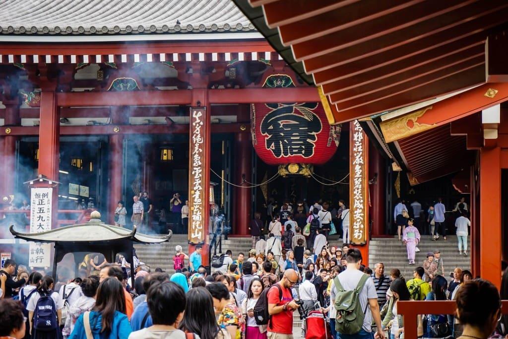 Asakusa temple in Tokyo