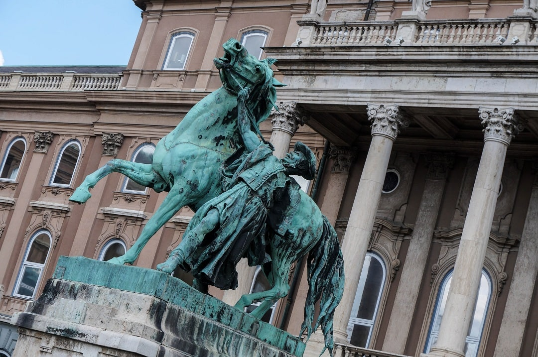 Buda Castle is now home to the Budapest History Museum and Hungarian National Gallery