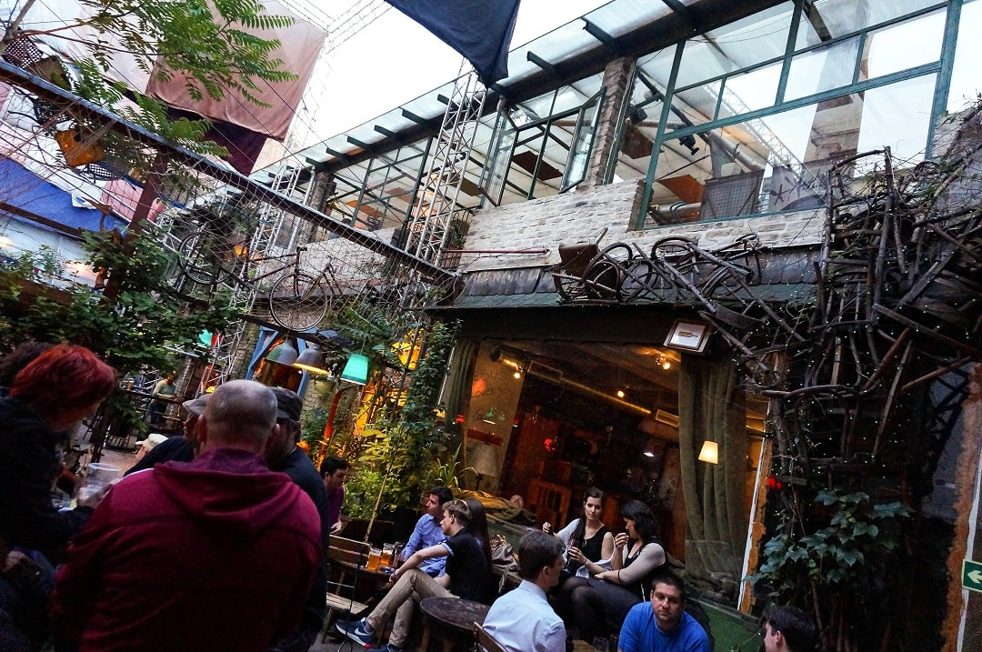 Plenty of ruin bars are in Budapest. Find an old building, add some art and cheap alcohol then watch the people come