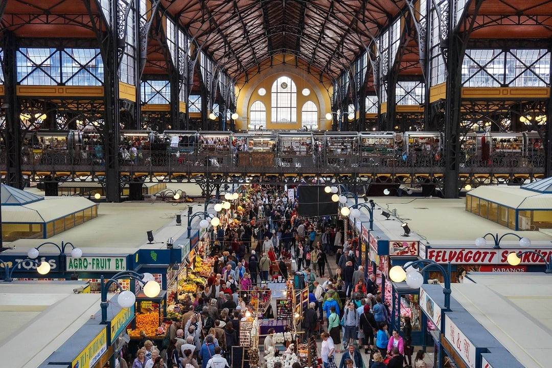 The Great Market Hall is popular for both locals and tourists but it really is just a market