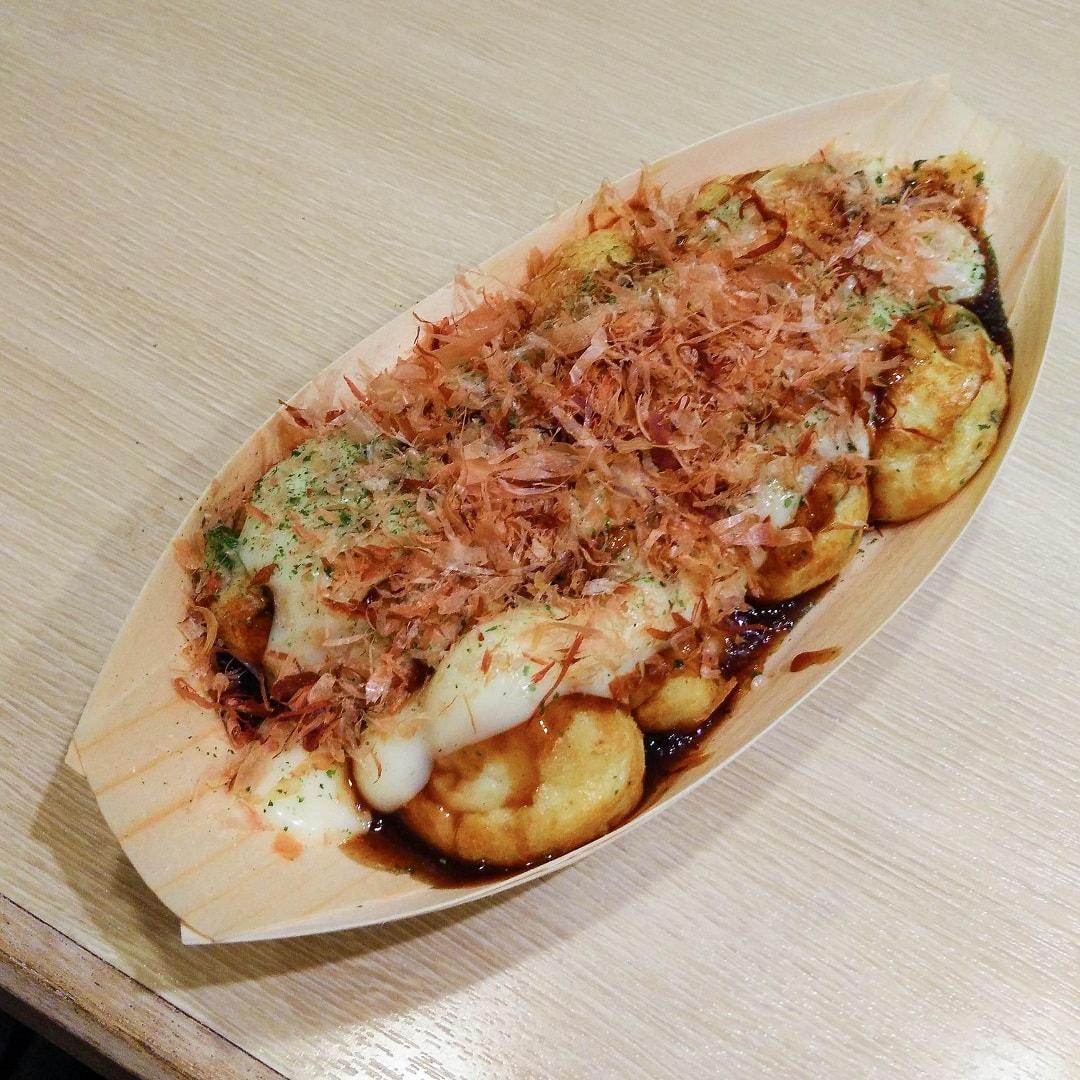 Food in Japan takoyaki