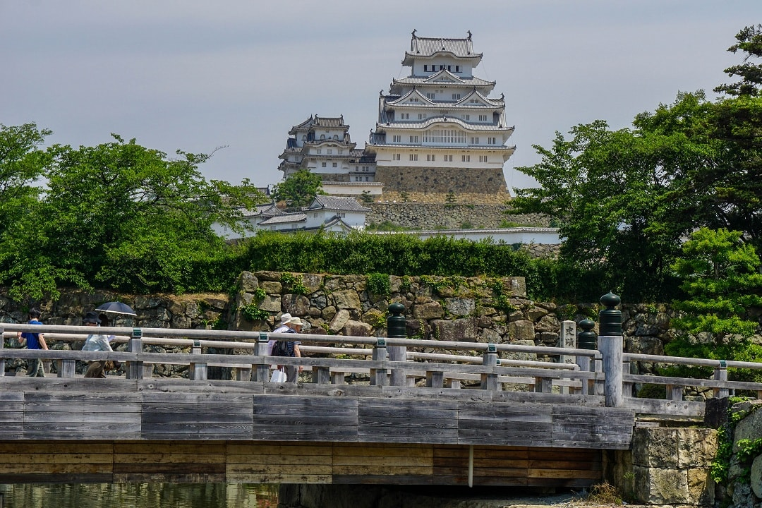 Himeji castle has recently been fully restored
