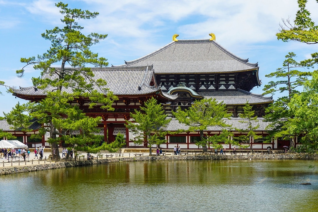 Nara is a great day trip from Kyoto or Osaka