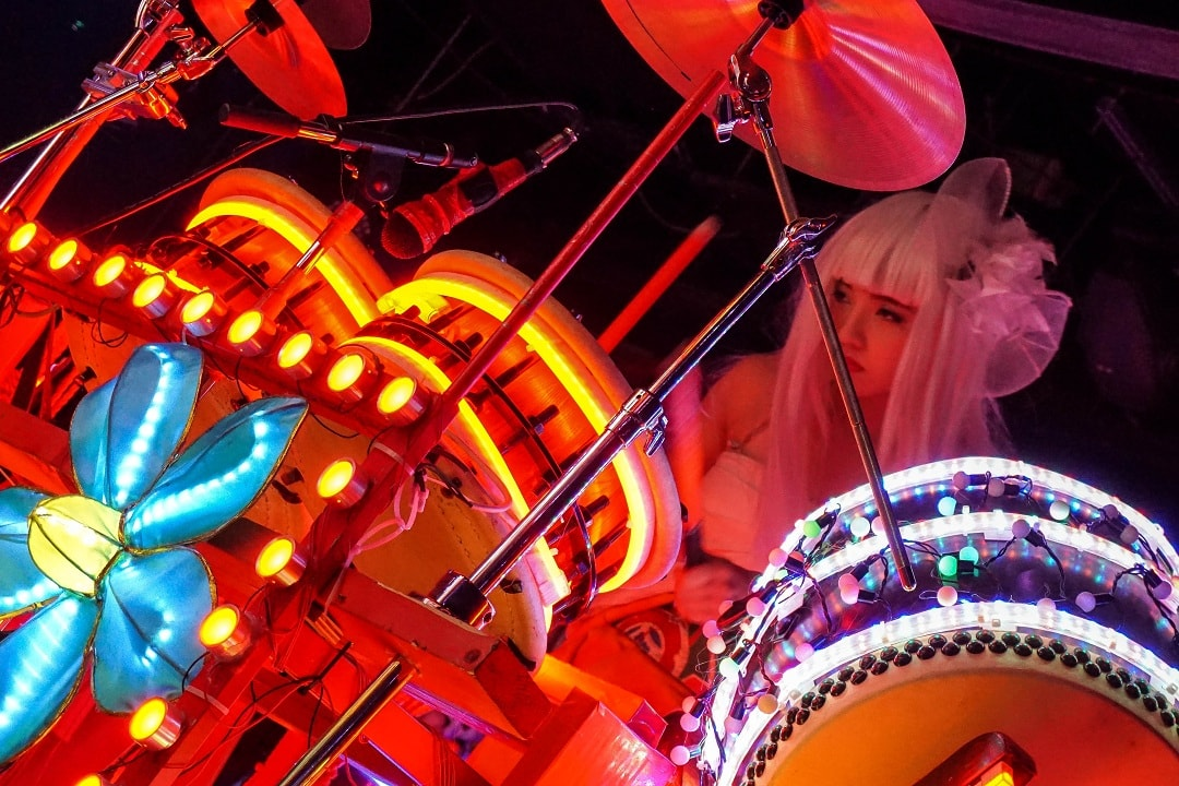 The robot restaurant in Tokyo is actually more like a theatre show
