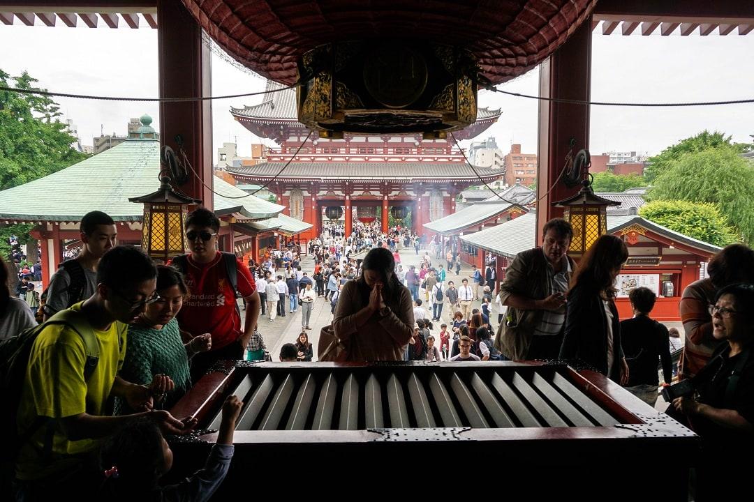 Sensō-ji is Tokyo's oldest temple