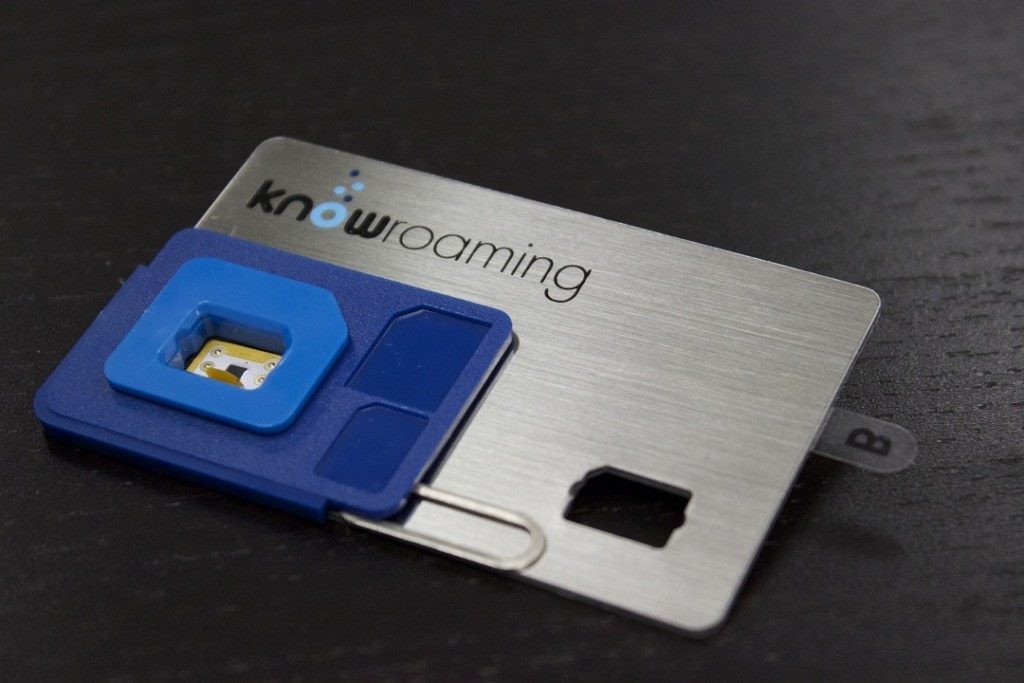 KnowRoaming SIM sticker
