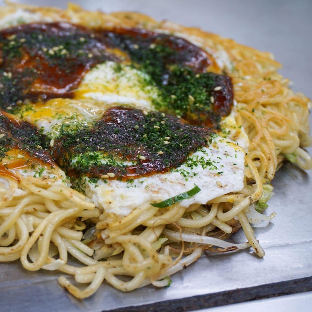 food in japan Okonomiyaki