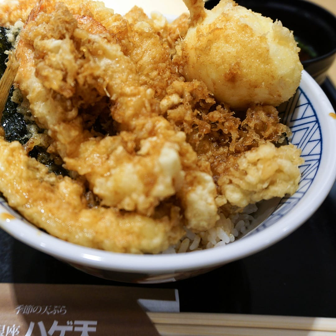 food in japan tempura