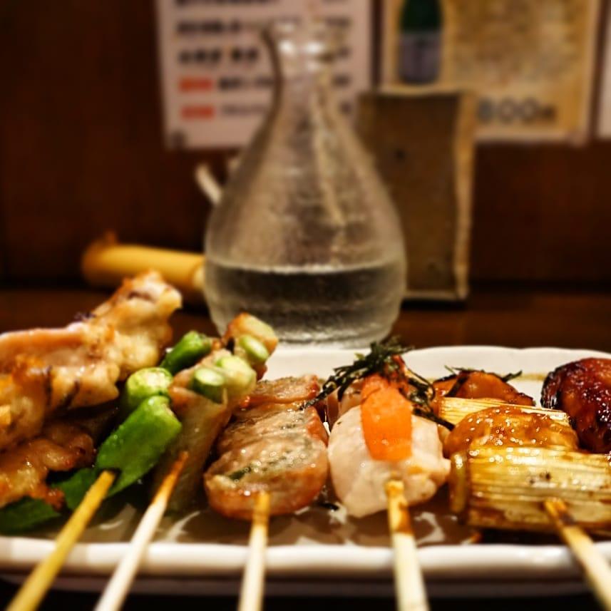 food in japan yakitori