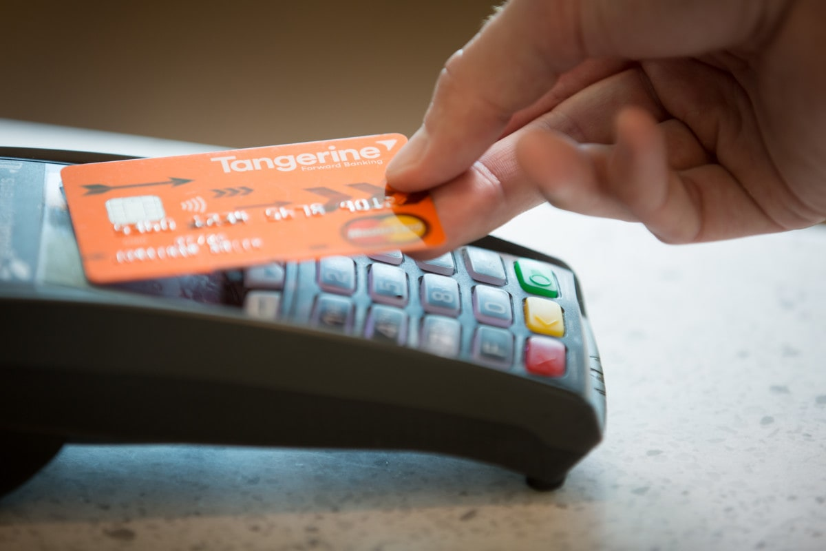 The new tangerine credit card