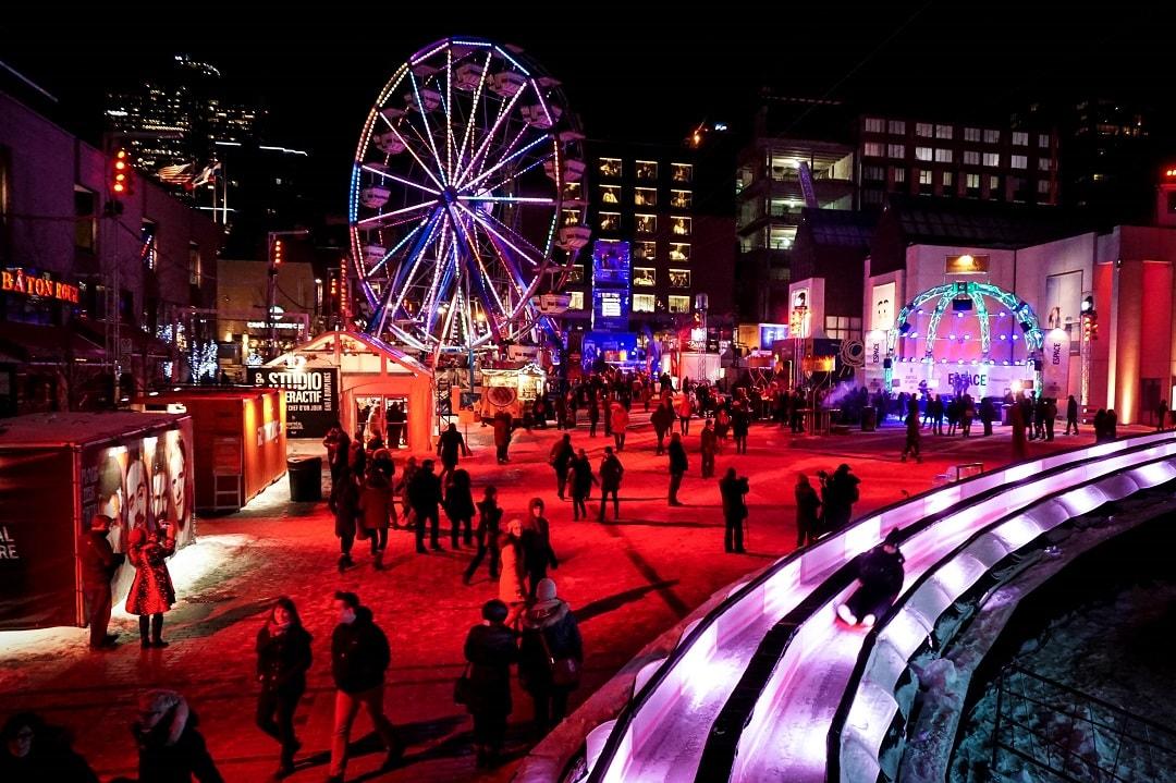 48 Hours in Montreal Montréal en Lumière