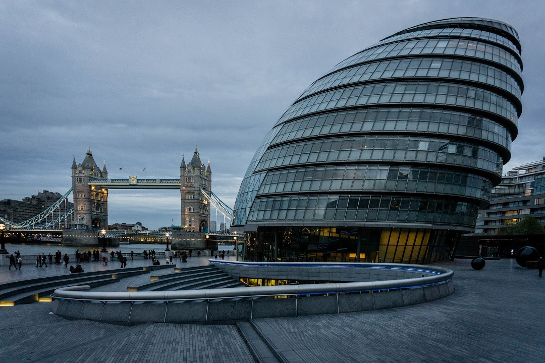 Must see Places in London City Hall