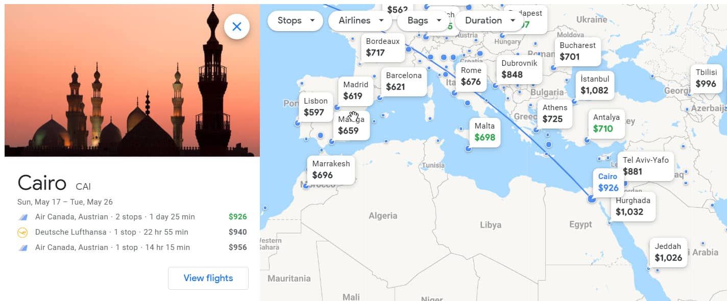 How to find cheap flights destination
