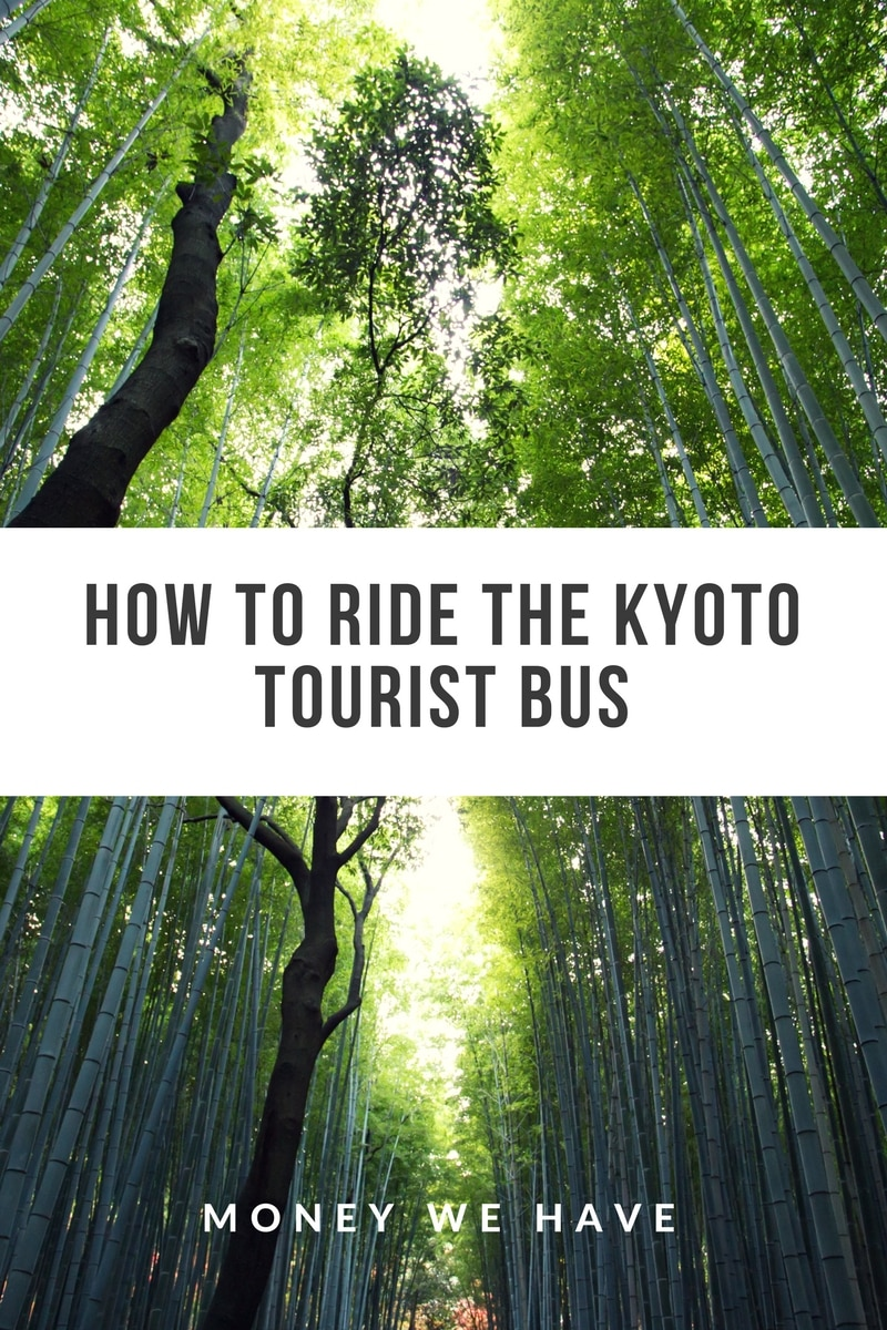 Kyoto Tourist bus – How to ride the Raku bus