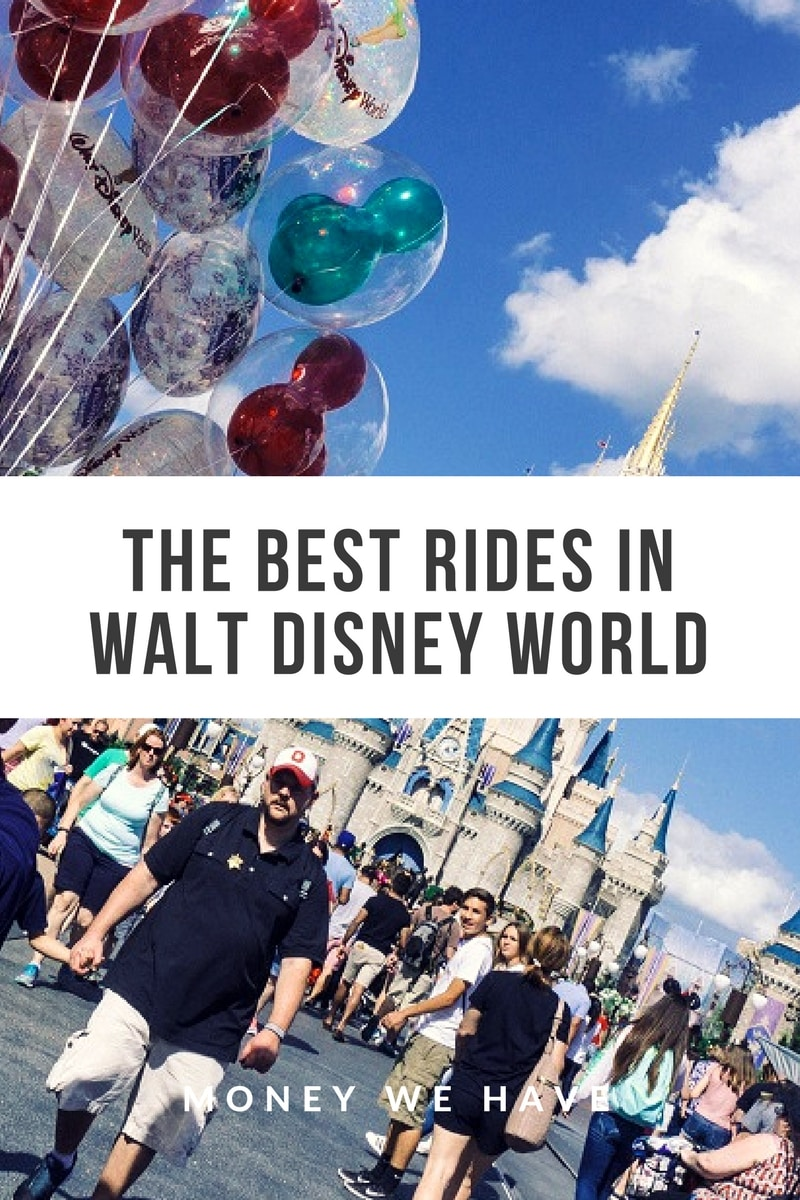 The Best Rides in Walt Disney World
