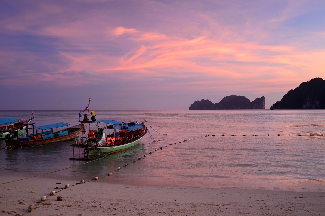 how much does it cost to go to thailand boats