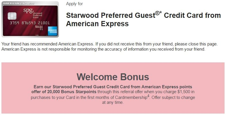 SPG Amex Canada Review