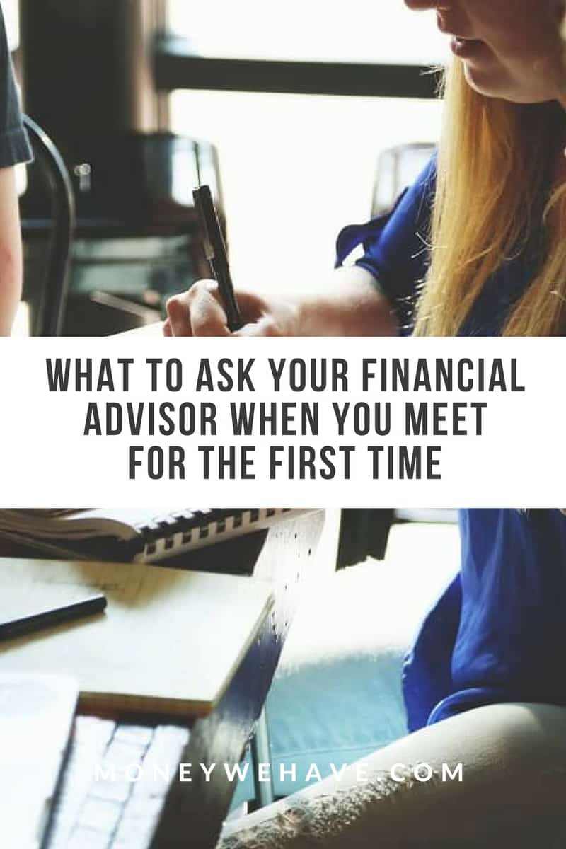 The Questions You Should be Asking When you First Meet a Financial Advisor