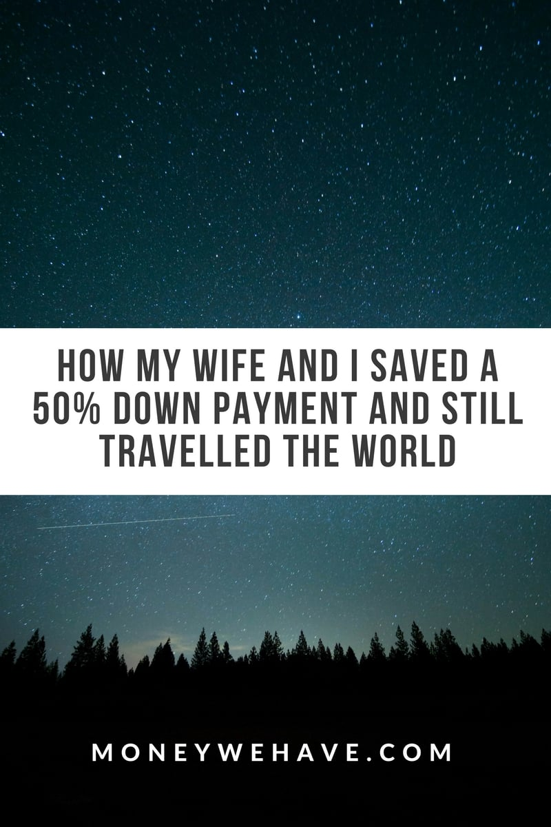 My Wife and I Saved a 50% Down Payment and Still Travelled the World