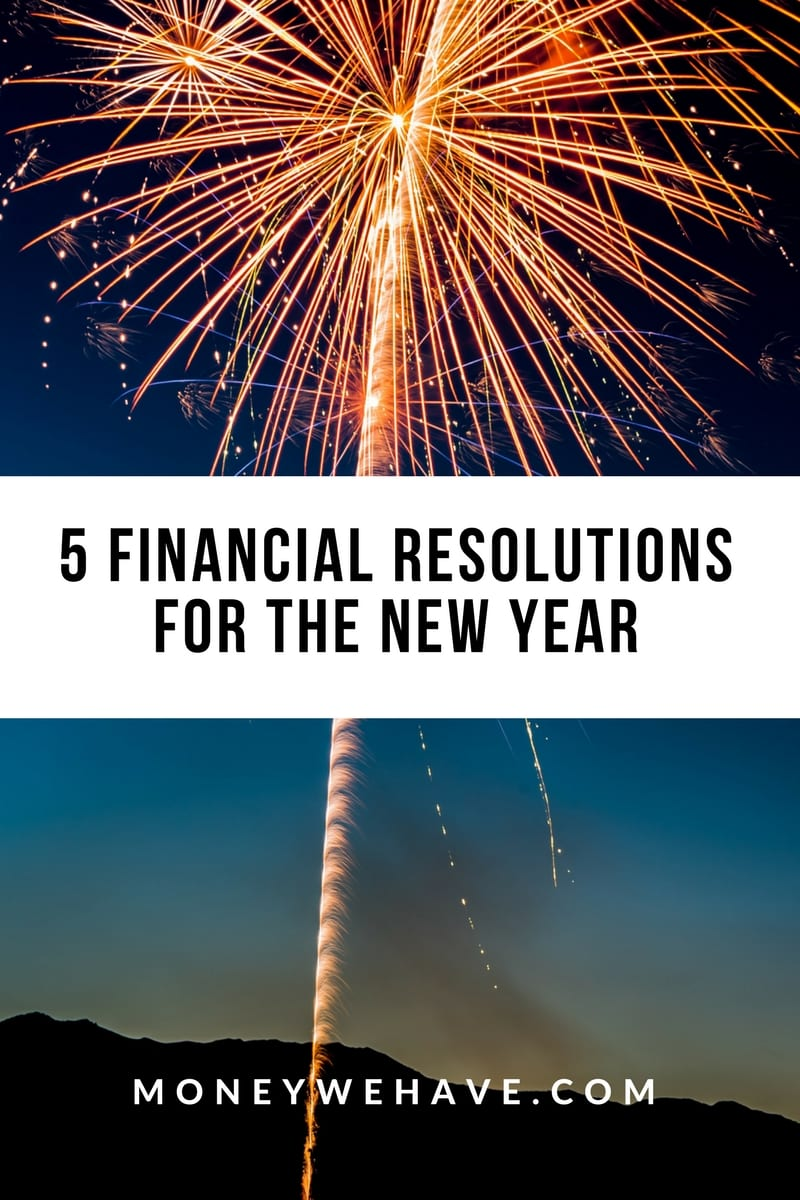 5 Financial Resolutions for the New Year