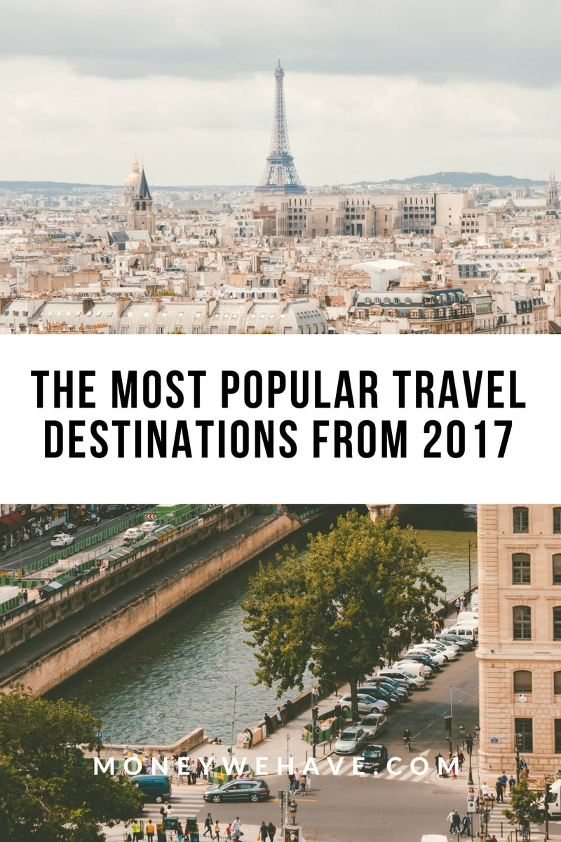 The Most Popular Travel Destinations From 2017