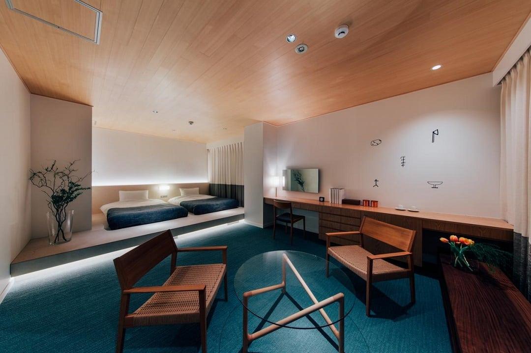 Hotel Graphy Nezu budget hotel Tokyo