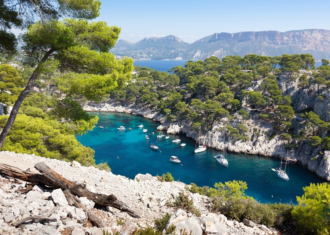 Image result for Provence's drop-dead gorgeous coastline conceals a series of dreamy coves