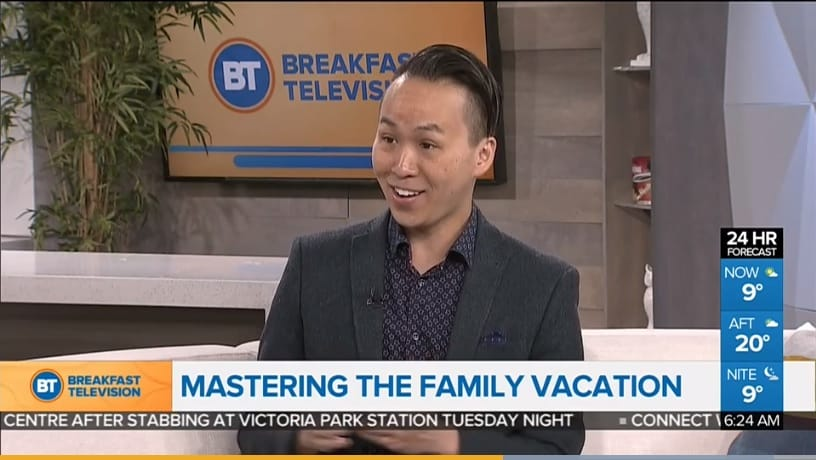 Travel Expert Barry Choi Breakfast Television