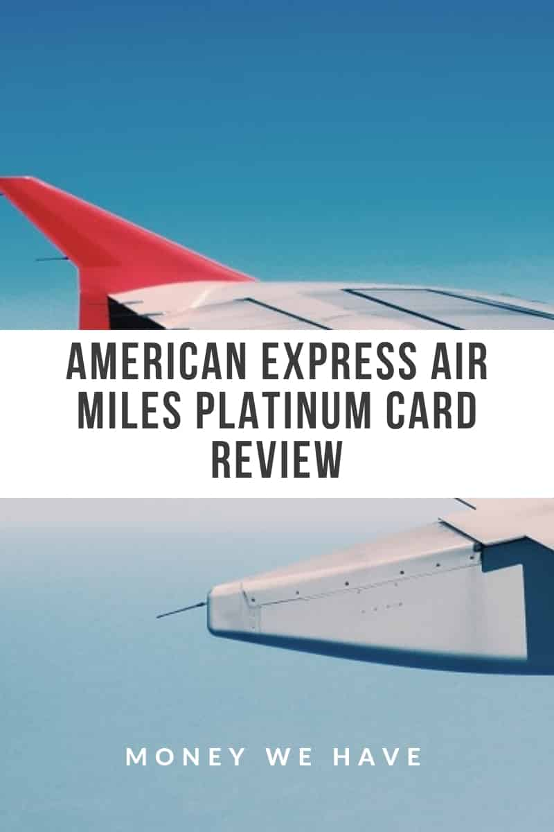 American Express Platinum Review pinterest - Money We Have