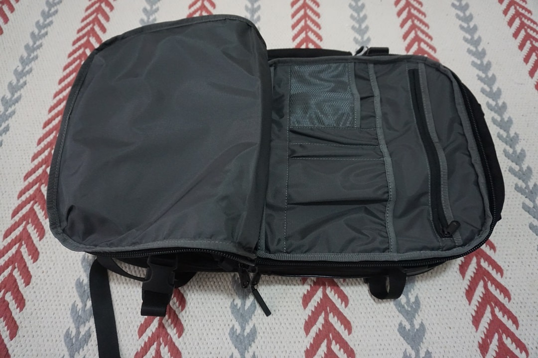aer travel pack 2 review pocket