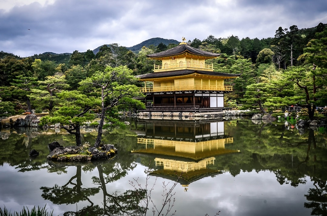 kyoto itinerary golden temple