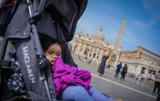 Rome with a baby