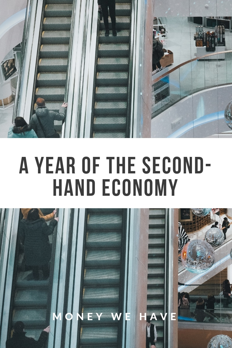 A Year of the Second-Hand Economy